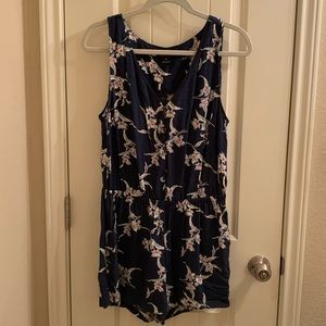 Lucky Brand Floral Romper